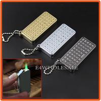Wholesale Cute Lighters - Pocket Cute Mini Keyboard Style Cigar Cigarette Butane Gas Jet Green Flame Torch Lighter
