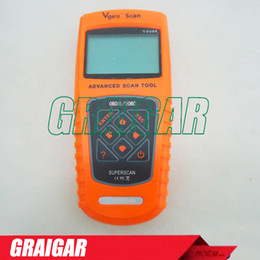 Wholesale Obd Ii Vag Code Reader - FREESHIPPING 100% brand new original authenticAutomotive ODB OBD II 2 OBD2 OBDII Diagnose Code Reader Scanner Scantool VS600