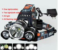 Wholesale CREE XML T6 Led Headlamp Modes High Power XM L Head Lamp for Outdoor Fishing Hiking Travelling Lumens Led Headlight Light V