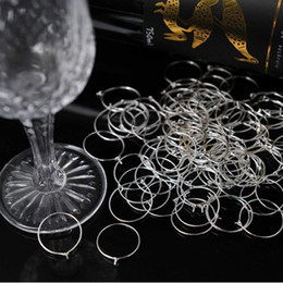 $enCountryForm.capitalKeyWord Canada - Free Shipping 200 pcs 25mm*20mm silver plated Alloy Wine Charm Glass Charm Wedding Favor Decoration