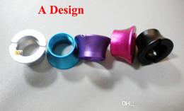 Beleza do ego on-line-Beleza colorida ego anéis ecig acessórios ego bateria cone segmento cone ego o adaptador U-DCT 510 para o ego threading frete grátis