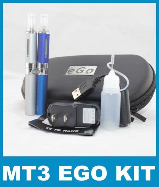Salute MT3 eVod BCC doppio Cartomizer Sigaretta elettronica per 650mh 900mah 1100mah E sigarette ego batteria 100 pz YA0100