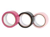 cuero rosa sm al por mayor-envío gratis cinta de servidumbre electrostática, cinta adhesiva de membrana electrostática, no se adhieren a nada, cinta adhesiva profesional BDSM