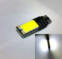 Wholesale Super Led W5w - 10W WHITE T10 COB LED Super BrightParking Backup Reverse For Brake Lamp Car Light Canbus Error Free 194 168 2825 W5W