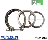 """Wholesale V Clamp Exhaust - TANSKY - Universal Upgraded 2.0"""" V-band clamp fit all style exhaust system TK-VKG20 Have In Stock"""