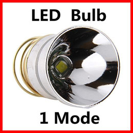Wholesale T6 Led Replacement Bulb - CREE XM-L T6 1Mode 1000Lm LED Flashlight Drop-in Module Repair Parts Torch Replacement Bulb Free Shipping