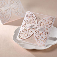 Wholesale Free Printable Wedding Envelopes - Wholesale - 50Sets Laser Cut Wedding invitations Cards+50 Cards+50 Envelopes+50 Seals Free Printable