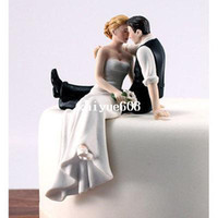 Wholesale Bride Groom Cake Toppers - Love Bride and Groom Wedding Cake Topper