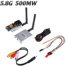 2014 Boscam TS352 + RC305 FPV 5.8G 500mW AV A / V que transmite 8 canales que reciben el sistema para DJI Phantom Alcance de 5 km desde fabricantes