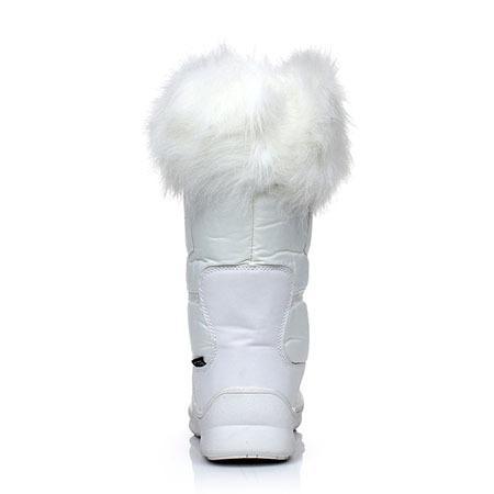 bottes neige femme blanche kefas gaiya 3222 bottes de neige femme blanc. Black Bedroom Furniture Sets. Home Design Ideas