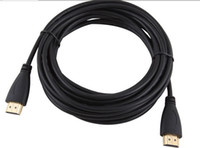 Wholesale Premium Hdtv - 500pcs New arrive Premium 6FT 2M HDMI to HDMI Cable Gold Plated Connection V1.4 HD 1080P for PS3 HDTV wholesale