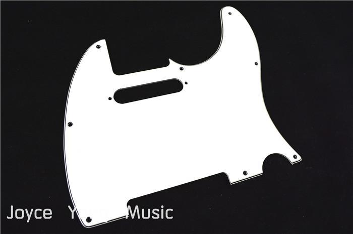 Weiß 3 PLY E-Gitarre Pickguard für Fender Tele-Art-elektrische Gitarren-freier Verschiffen-Großverkauf