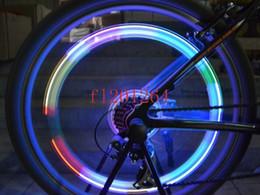 Wholesale Light Led Skull Tires - Retail package Colorful Skull Head Bicycle Bike Tire Valve Wheel Flash LED Light Lamp,1000pcs lot(2pcs per pack)