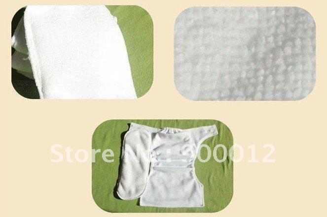 مطيع الطفل ستوكات إدراج 3 طبقات قابل للغسل 100٪ ستوكات حفاضات القماش الطفل الحفاظات إدراج شحن مجاني