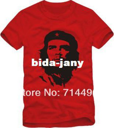 che shirts Promo Codes - Wholesale-2014 Great Che Guevara Revolutionary T-shirt, 6 colors,100% cotton short-sleeve T-shirt Free shipping