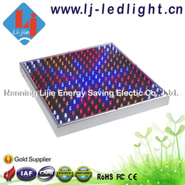 Wholesale 225 Led - 14W 15W led grow light panel for flower&Veg,fruiting,seeding&blooming 225 LED red 630nm blue 460nm orange 610nm white 12000