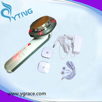 Wholesale Mini Ultrasound Machine - mini ultrasound slimming machine Top selling 3 in 1 Ultrasonic+Infrared+EMS Body Slimming Beauty Massager