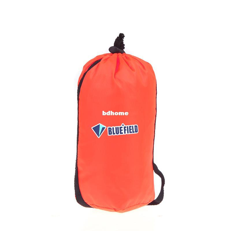 Wholesale-NEW BlueField Backpack Cover One-piece Raincoat Poncho Rain Cape Outdoor Hiking Camping Unisex Reddish-orange
