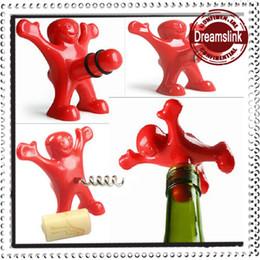 Wholesale Happy Kitchens - Creative Bar Kitchen wine tool Sex Censorship Happy Man Corkscrew + Bottle Stopper