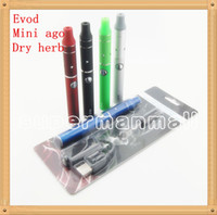 evod vaporizer starter kit großhandel-E-Zigarette Evod Mini vor g5 Verdampfer Blister Starter-Kit