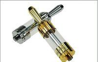 atomizador de goteo reconstruible rda del estilo de la velocidad al por mayor-Nuevo diseño Trustank Clearomizer Capacidad: 3,5 ml Colores de oro y astilla de atomizador Trustank de latón