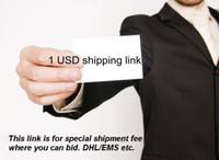 Wholesale 1 USD special link for extra cost by DHL EMS FEDEX ETC