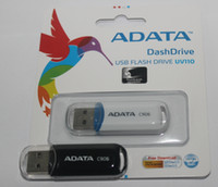 Wholesale High Speed Usb Flash 128gb - ADATA C906 256GB 128GB 64GB USB 2.0 USB Flash Drives Grade A quality Pen Drives Memory Stick U Disk customized logo printing on case package
