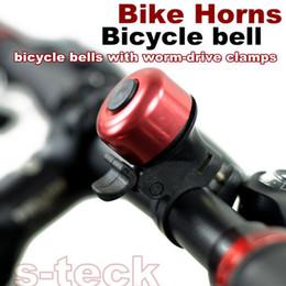 Anéis de bicicleta de moda barata de luxo sinos alarme chifres bicicleta anel sino sino de alumínio soa ciclismo esporte sino com braçadeira worm-drive de Fornecedores de altifalantes de sirenes
