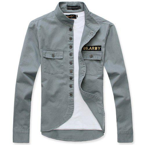 Fashion Tide Men's Jacket/Casual Coat,Military Style Male Clothes ...