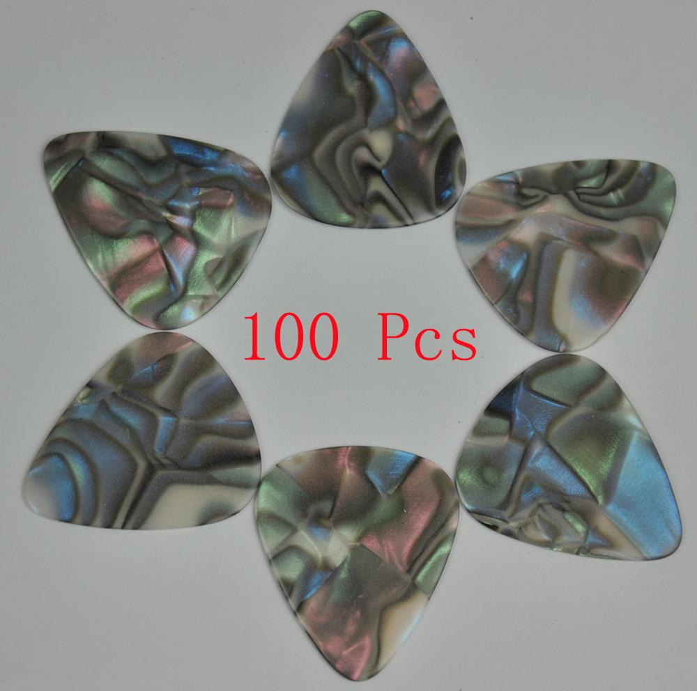 Of Heavy 096mm Blank Guitar Picks Plectrums No Print Celluloid Abalone Seashell Online With 1315 Piece On