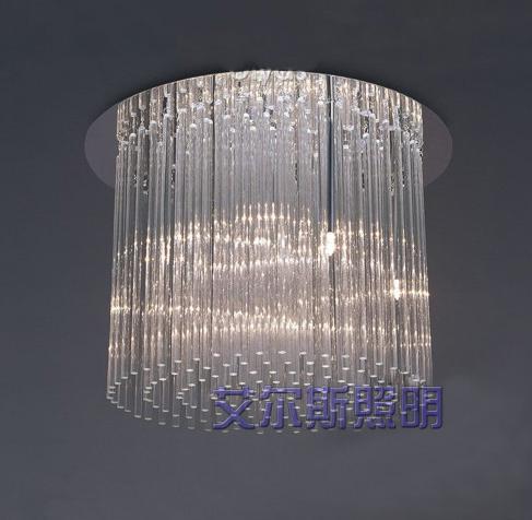 Best Ayers Restaurant Glass Rod Crystal Chandelier Lamp Crystal ...