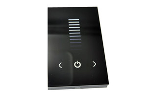 Wholesale DC V Touching Panel wall single color led controller dimmer TM06U for led lamp or led strip free ship