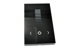 Wholesale Touch Wall Dimmer - DC 12-24V Touching Panel wall single color led controller dimmer TM06U for led lamp or led strip free ship