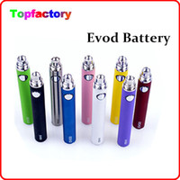 Wholesale Ego Batteies - EVOD battery 650mah 900mah 1100mah 510 thread Ego series batteies for Ego-W ego-t ego-c ego-v Evod MT3 atomizers,fit CE4 CE5