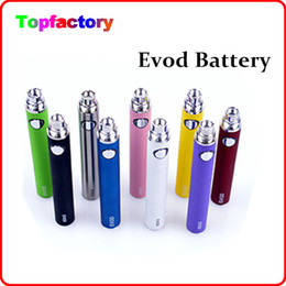 Wholesale Ego V Ce4 - EVOD battery 650mah 900mah 1100mah 510 thread Ego series batteies for Ego-W ego-t ego-c ego-v Evod MT3 atomizers,fit CE4 CE5