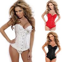 Wholesale Strapless Underwear Slim - Bridal strapless corset body sculpting underwear breast care abdomen thin plastic waist slimming corset tops