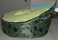 Wholesale Baby Bean Bag Chairs Patterns - Portable Baby Bean Bag Seat - New Kids Toddler Marine Camo pattern Beanbag Chair   Bed.Deluxe, Authentic & Original   Dual Top