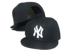 Chinese  Hot Style Black NY baseball boy caps kid's snap back snapback hats baseball cap boys basketball hats cap children boy caps DDMY manufacturers