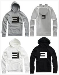 Wholesale Eminem Sweatshirts - 2016 Lovers hip hop pullover new brand eminem hoodie with hood hip hop sweatshirt punk for spring autumn winter eminem Pullover 9 color