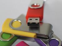 ingrosso finestra di azionamento-64 GB 128 GB 256 GB USB 2.0 girevole in plastica USB Flash Drives Pen drive Memoria USB Stick iOS Windows Android OS