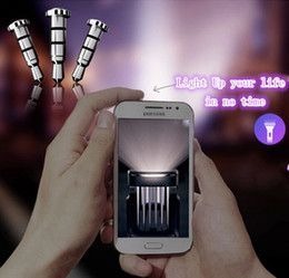 Wholesale Headphone Jack Dust Plugs - Klick Quick Button Smart Shortcut For Andriod Smartphone Samsung HTC Xiaomi Hongmi Mikey Headphone Dust Proof Plug Free Shipping
