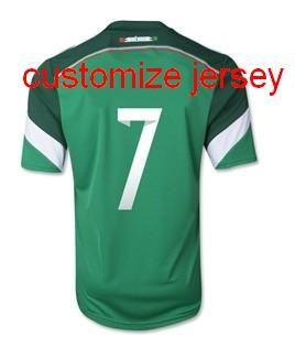 865912e47d2 ... shirt 17 18 Mexico 2014 Mexico World Cup Home 7 Miguel Layun Soccer  Jerseys Football Shirts , Mexico 2014 Home Mexico national team 2015 Away  ...