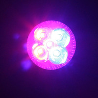 Wholesale grow lights rgb - Led Plant Lighting E27 10W Plant Led Grow Light Lamp Bulb 3 Red 2 Blue For Flowering Plant and Hydroponics System 85-265V