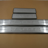 Wholesale Cruze Door Sill Plates - FREE SHIP CRUZE (2009--2012) GOOD Door Sill Plate Scuff Trim Stainless
