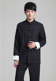 Mandarin suits for Men online shopping - Shanghai Story chinese style tang suit top chinese traditional clothing for men mandarin collar Chinese Shirt