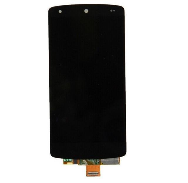 Google Nexus 5 LG D820 D821 Display LCD con Touch Digitizer Screen Assembly + Black Frame Parts Spedizione gratuita