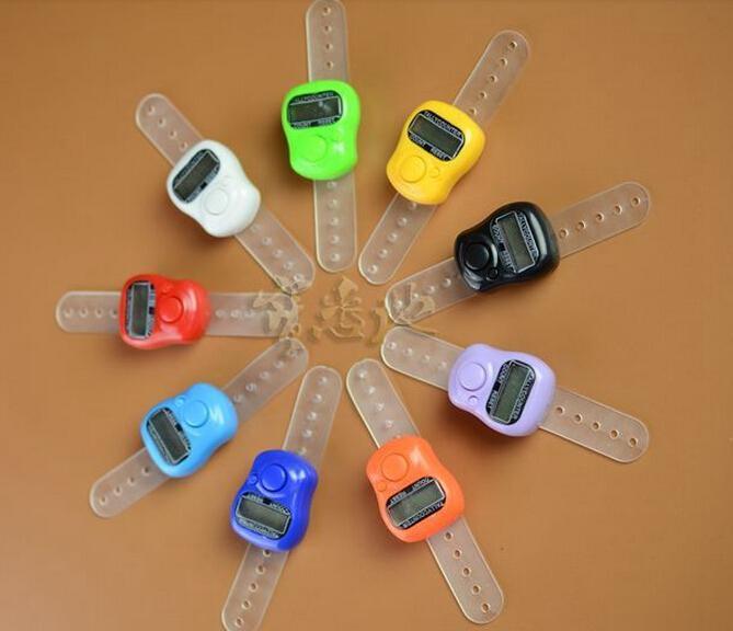 Ny Ankomst Muslim Finger Ring Tally Counter Digital Tasbeeh Tasbih