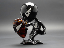 G spot tubi online-Black G Spot Alien Glass Pipes Tubi di vetro in vetro fumogeni