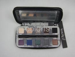 Wholesale Eye Shadow Primer Potion - Smoked Eye Shadow 10 Colors Eyeshadow With Pencil And Primer Potion ( 1 Pcs Lot)