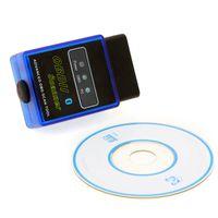 Wholesale Code Vgate Bluetooth - Mini ELM327 Vgate Bluetooth OBD OBD2 Automotive Car Diagnostic Scanner Tool For Android code reader